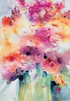 Ode to Joy! - Watercolor