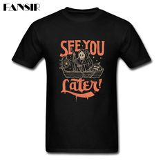 >> Click to Buy << Goul Said See You Later Men T-shirt 2017 New Arrival Tee Shirts Men Short Sleeve Crewneck Cotton XS-3XL Brand Clothing For Adult #Affiliate