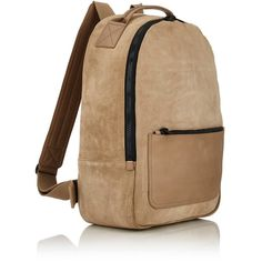 Adidas Originals by Kanye West Men's Suede Backpack (€485) ❤ liked on Polyvore featuring men's fashion, men's bags, men's backpacks and mens backpack