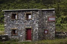 Stone Environmental Interpretation Centre is a Sensitive Reconstruction on São Jorge Island
