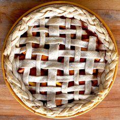 Peach & Apricot Pie