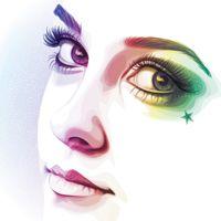 How to Create a Rainbow Colored Portrait From a Stock Image in Illustrator (via vector.tutsplus.com)