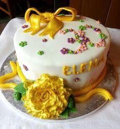 Torta di compleanno per Elena