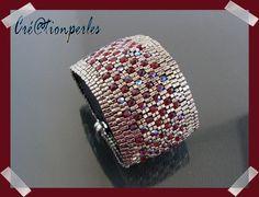 Simple and pretty. Des perles et une passion...