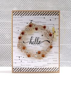 Hey everyone!  Happy World Cardmaking Day!  I'm happy to be participating in a very special blog hop today.  You should have arrived here ...