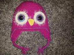Crochet owlhat