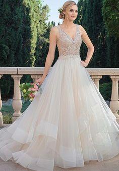 6eb29582f0c Casablanca Bridal 2315 Tori A-Line Wedding Dress Bridal Wedding Dresses