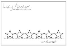 Lucy's Cards Sketch Week - Day 5 by Lucy Abrams, via Flickr