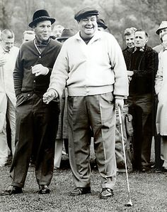 ENJOY the GAME cahillgolf.com Jackie Gleason played golf the way he lived life.