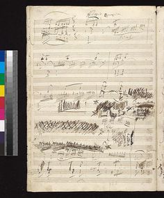 Beethoven, Ludwig van, 1770-1827. Sonatas, violin, piano, no. 10, op. 96, G major . Sonata no. 10 in G major, op. 96, for violin and piano : autograph manuscript, 1815 (The Morgan Library & Museum)