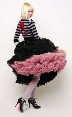 "Betsey Johnson Fall 2009 ""Betsey Crocker's Recipes for Dressing"""