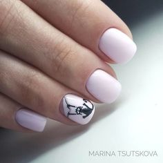 40+ Pretty Clever Nail Designs and Colors - Fashion 2D