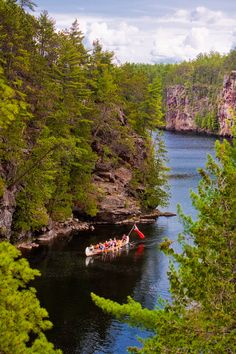 Samuel de Champlain Provincial Park - great place to stop for lunch & have a break! Wonderful Places, Great Places, Beautiful Places, Beautiful Pictures, Ontario Camping, Rv Camping, Samuel De Champlain, Ontario Parks, Kayaking