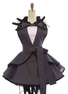 ❥The Nightmare Before Christmas   Costume Apron