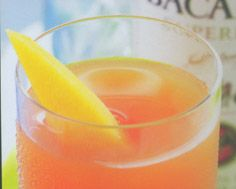 Bacardi Tropical Splash - In a cocktail shaker filled with ice, combine 1 oz. Bacardi white rum with mango and cranberry juice.Shake well and strain into a cocktail g...