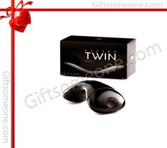 Rs.3,400.00 / $61.20 Shipping Charges Free Shipping To India(IND) Product Details  Twin for Men is composed of bergamot, green apple, mandarin, sweet almonds, patchouli, nutmeg, rosewood and sandalwood. http://www.giftsomeone.com/twin-man/product_info.php/products_id/3611