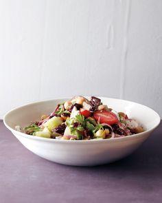 Greek Salad with Chickpeas - Martha Stewart Recipes