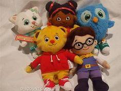 New Daniel Tiger Neighborhood Friends Plush Toys 5 Pieces Daniel Tiger Toy New   eBay