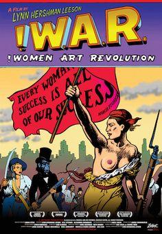 """ is Lynn Hershman Leeson's ""secret history"" of feminist art, which includes interviews with Miranda July, The Guerrilla Girls, Yvonne Rainer, and more. Women In History, Art History, Yvonne Rainer, Carolee Schneemann, Guerrilla Girls, Judy Chicago, Miranda July, Success, The Secret History"