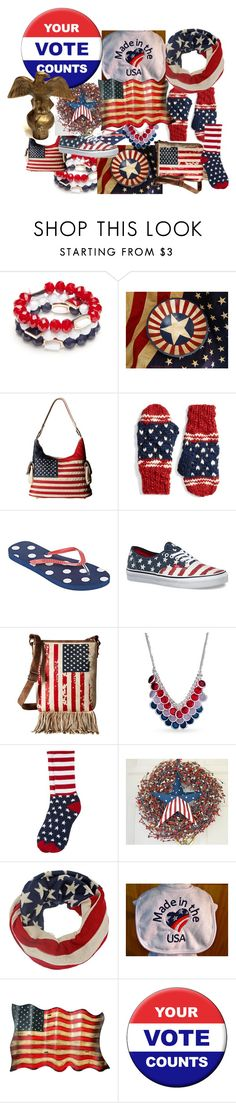 """GET OUT THERE AND VOTE"" by cindyanne-mroz-hernandez ❤ liked on Polyvore featuring interior, interiors, interior design, home, home decor, interior decorating, New Directions, M&F Western, Collection XIIX and Mixit"