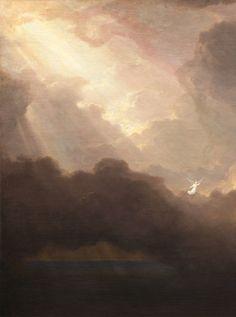 "slojnotak: "" Thomas Cole - The Voyage of Life: Old Age (1842) """