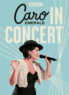 Artwork for the DVD 'Caro Emerald In Concert'.
