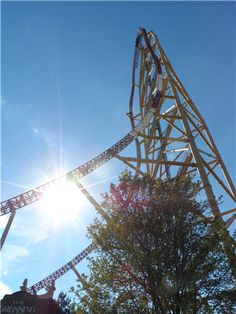 Shores & Islands photo contest entry: Dragster at the peak - Cedar Point.