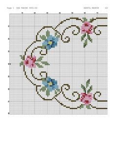Discover recipes, home ideas, style inspiration and other ideas to try. Cross Stitch Boarders, Cross Stitch Heart, Cross Stitch Flowers, Cross Stitch Designs, Cross Stitching, Cross Stitch Embroidery, Cross Stitch Patterns, Owl Quilt Pattern, Hand Embroidery Patterns Flowers