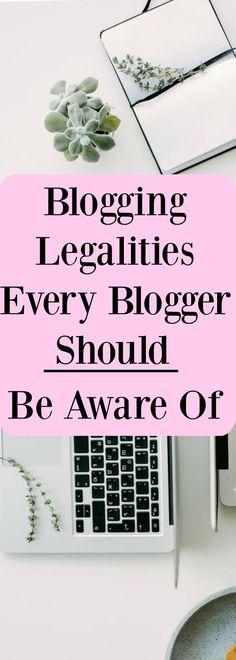 Blogging Legalities