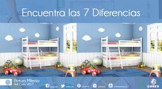 Escribe las diferencias, si las encuentras. www.corev.mx
