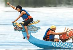 We do NOT suggest doing this during the Louisiana Dragon Boat Races!