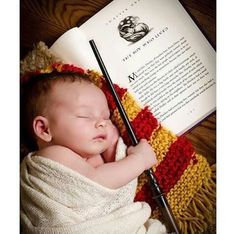 Baby boy Harry potter photoshoot