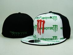 efd0e60c8c3f3 Monster Energy Fitted