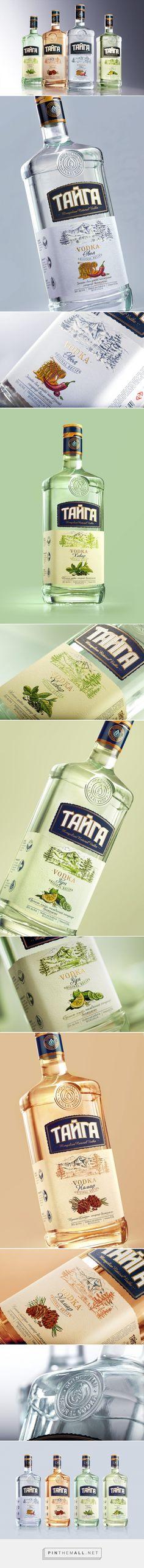 Taiga Vodka - Packaging of the World - Creative Package Design Gallery - http://www.packagingoftheworld.com/2016/12/taiga-vodka.html