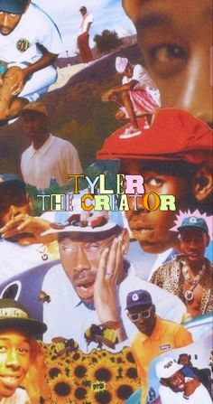tyler the creator wallpaper insta - naomixaco Rapper Wallpaper Iphone, Hype Wallpaper, Retro Wallpaper, Wallpaper Iphone Cute, Cute Wallpapers, Dark Wallpaper, Disney Wallpaper, Bedroom Wall Collage, Photo Wall Collage