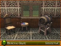 simonettaC's Medieval Grate