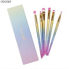 High Quality 6 PCS Professional Eyeliner Brush Set