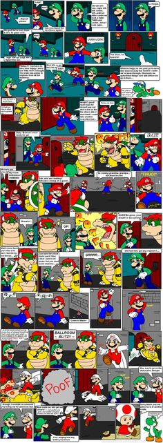 super mario bros page 44 by Nintendrawer