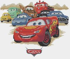 CARS 12 - Lightning McQueen and Friends
