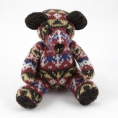 Shetland Museum and Archives Home  Textiles  Burra Bear - Traditional (large)
