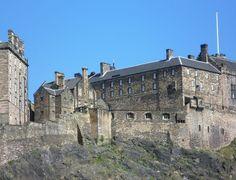 The Queen Anne Building (center-right) Edinburgh Castle buildings - Edinburgh Castle - Wikipedia, the free encyclopedia