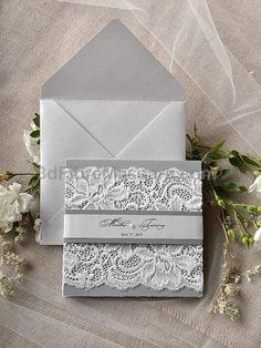 Lace Wedding Invitation 4lovepolkadots See more here: 4lovepolkadots.co... #weddings #wedding #marriage #weddingdress #weddinggown #ballgowns #ladies #woman #women #beautifuldress #newlyweds #proposal #shopping #engagement