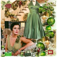 """""""Christmas Green!"""" by nperozzo on Polyvore"""