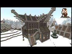 (Danish) Minecraft Tutorial 004 | Large Viking House - YouTube