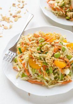 Asian Ramen Salad #healthy #ramen #salad