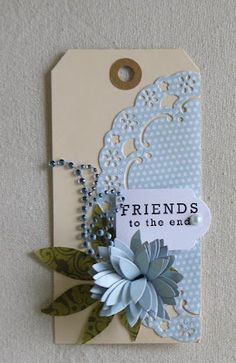 Stampin'Up Creations by Jolan Jolanda Meurs giftboxes handmade cards crafts gifts workshops in wageningen cadeautjes kadootjes Mini Album Scrapbook, Scrapbook Cards, Scrapbook Layouts, Handmade Gift Tags, Marianne Design, Paper Tags, Scrapbook Embellishments, Artist Trading Cards, Vintage Tags