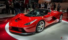 Ferrari LaFerrari world debut at the Geneva Motor Show