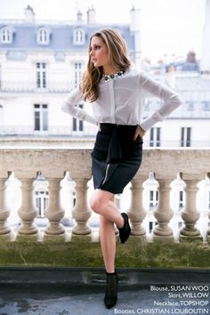 Check out Olivia's personal sartorial collection from which she creates her signature chic.