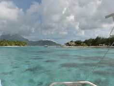 Snorkel adventure in Bora Bora via Paul Gauguin Cruises. An exclusive www.CruiseBuzz.net iVoyage.