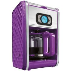 Fully programmable with 24-hour timer. Pause and serve function. Reusable filter eliminates waste. 2-hour keep warm function with auto-shutoff. Conveniently hidden cord storage.
